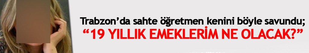 """Trabzon'da sahte öğretmen kendini savundu! """"Kalp hastası oldum"""""""