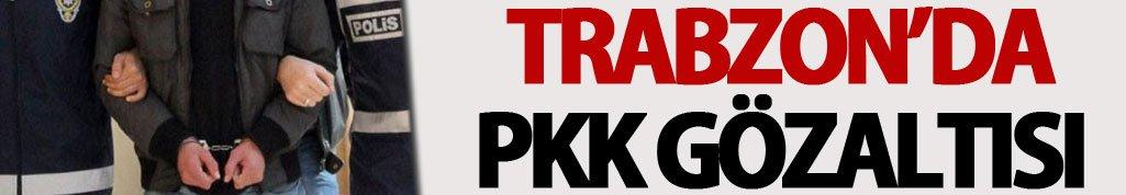 Trabzon'da PKK gözaltısı