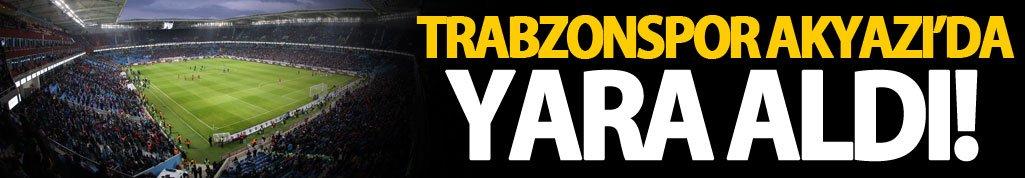 Trabzonspor, Arena'da yara aldı