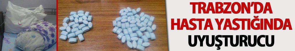 Trabzon'da hastanede uyuşturucu trafiği