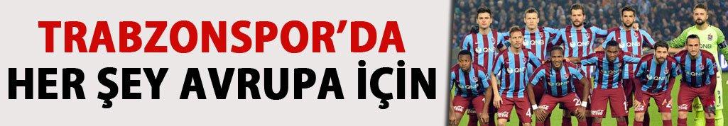 Trabzonspor Avrupa iddiasını sürdürmek istiyor