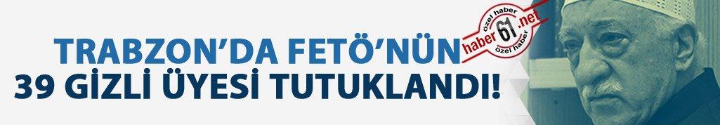 Trabzon'da terör örgütünün 39 üyesi tutuklandı