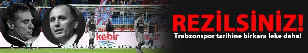 Trabzonspor tarihine kara bir leke daha!