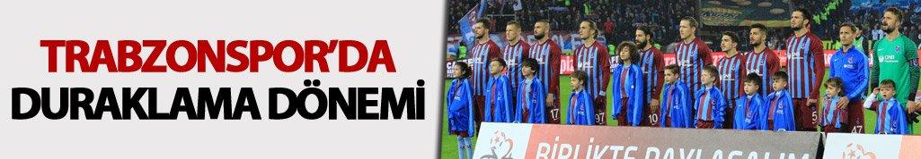 Trabzonspor'da duraklama dönemi