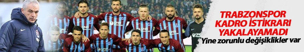 Trabzonspor istikrarı yakalayamadı