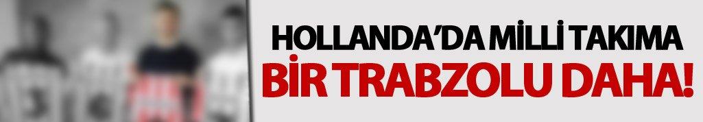 Trabzonlu futbolcu Hollanda'da parladı!