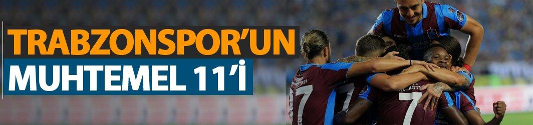 Trabzonspor'un muhtemel Akhisar 11'i