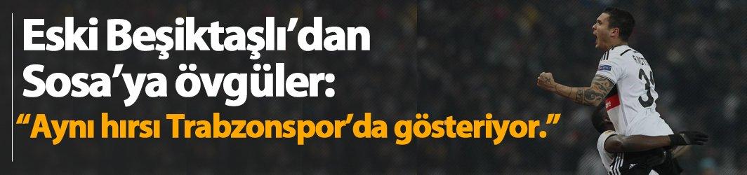 Eski Beşiktaşlı Motta, Sosa'ya övgüler yağdırdı