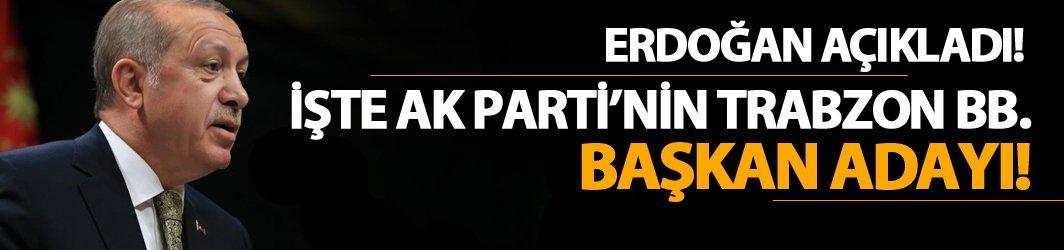 Trabzon Büyükşehir Belediye Başkan Adayı Murat Zorluoğlu oldu!