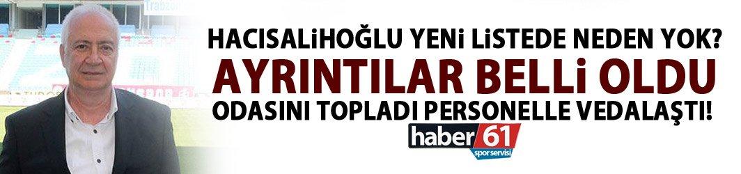 Hayrettin Hacısalihoğlu yeni listede neden yok! İşte perde arkası!