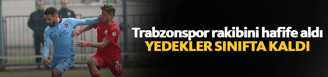 Trabzonspor Sivas Belediyespor'u hafife aldı