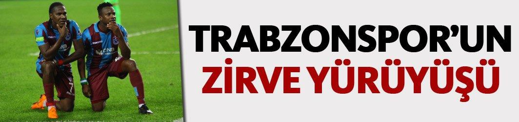 Trabzonspor'un zirve yürüşü!