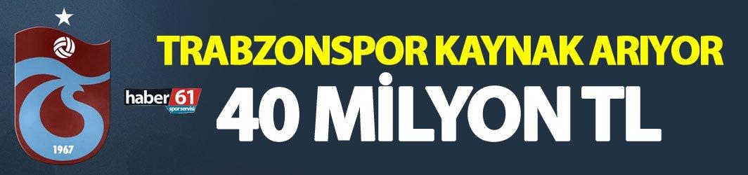 Trabzonspor'da ödeme alarmı