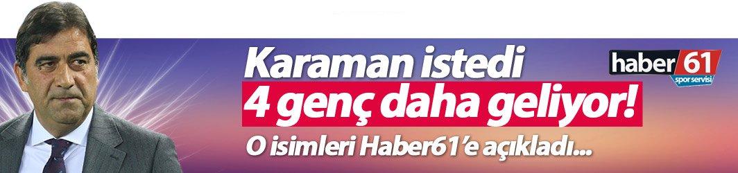 Trabzonspor'a 4 genç daha!
