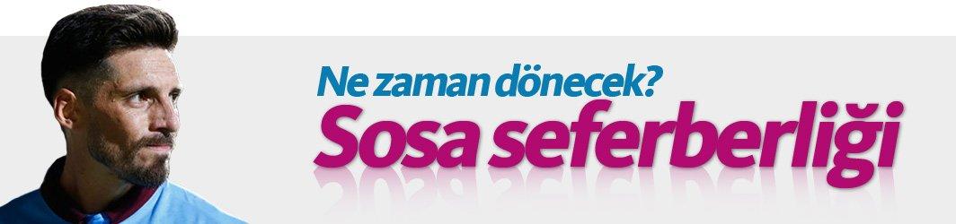 Trabzonspor'da Jose Sosa seferberliği