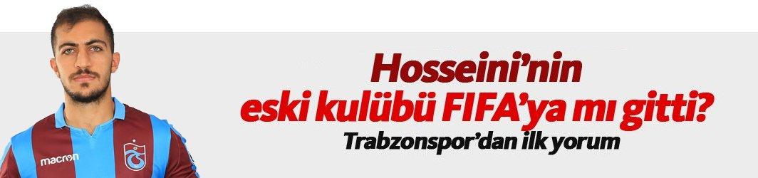 Hosseini'nin eski kulübü Trabzonspor'u şikayet mi etti?