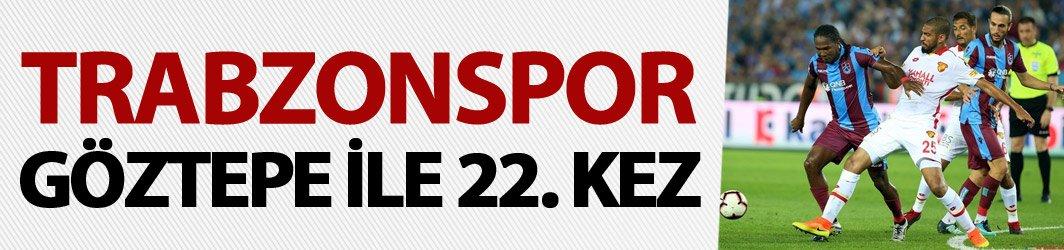 Trabzonspor Göztepe ile 22. kez