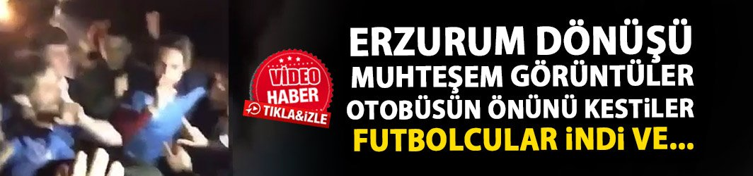 Trabzonspor otobüsü Maçka'da durduruldu! Futbolcular üçlü çektirdi
