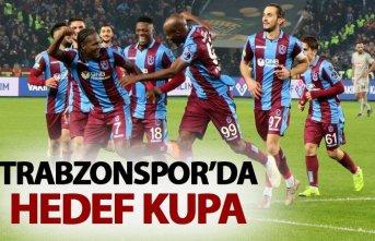 Trabzonspor'da hedef kupa