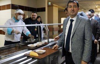 Hastane personeline Çanakkale menüsü