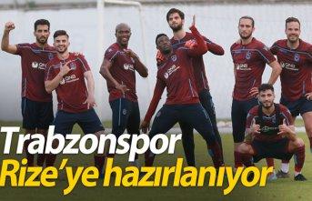 Trabzonspor Rize'ye hazırlanıyor