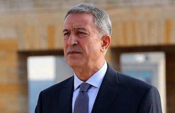 Milli Savunma Bakanı Akar, Gürcistan'da
