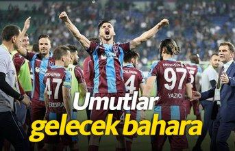 Trabzonspor gelecek için umut verdi