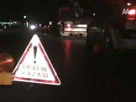 Şalpazarında trafik kazası