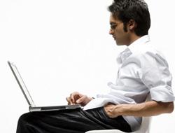 Erkekler, laptopa dikkat!...