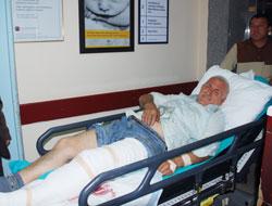 Patpat devrildi: 5 yaralı