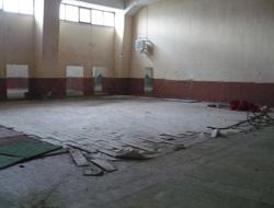 Trabzon'da spor salonu tadilatta
