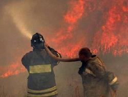 Maçka'da bir kişi yanarak öldü