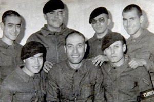 Kemal Sunal'ın askerlik fotoğrafı