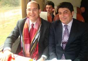 Trabzonlu Soylu AKP rozeti takıyor