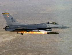 F-16'lar hedefleri belirledi topçular vurdu