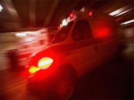 Samatya'da polis kaza yaptı: 1 ölü