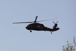 Diyarbakır'da Helikopter düştü