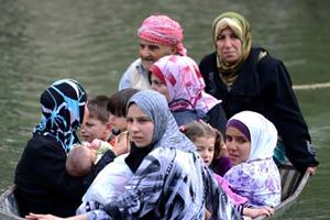 Suriye'den kaçışın adresi 'Asi' oldu
