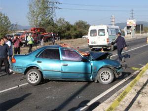 Bolu ve Kocaeli'de Trafik Kazası