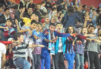 Trabzonspor Okzheptes Maçı Kareleri