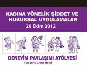 """""""Kadına Yönelik Şiddet Hukuksal Uygulamalar""""..."""