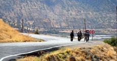 Mehmetcik onlar için Herekol Dağı'nda