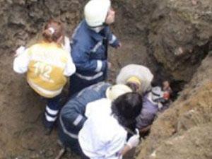 Göçük altında kalan işçinin cesedi çıkarıldı