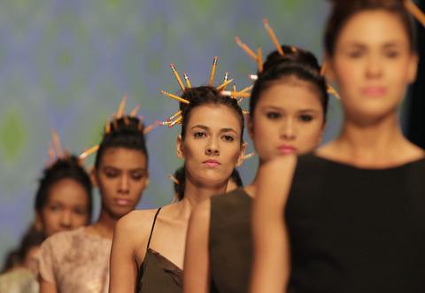 Kolombiya'da moda rüzgarı