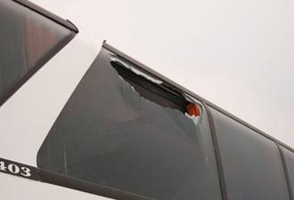 Torulspor otobüsü  kurşunlandı !