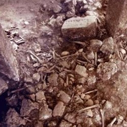 Döverek öldürdüğü adamın cesedini yaktı