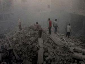 Şam'da katliam : 53 ölü