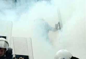 PKK'lılara biber gazı sıkmaya ceza!