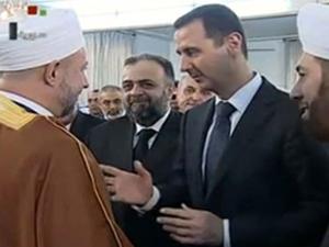 İmamın sözleri Esad'ı bozdu