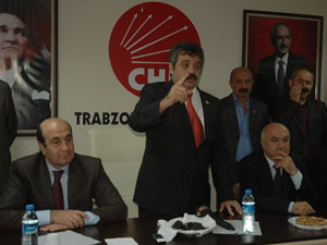 Trabzon CHP İl Başkanlığında bayramlaşma